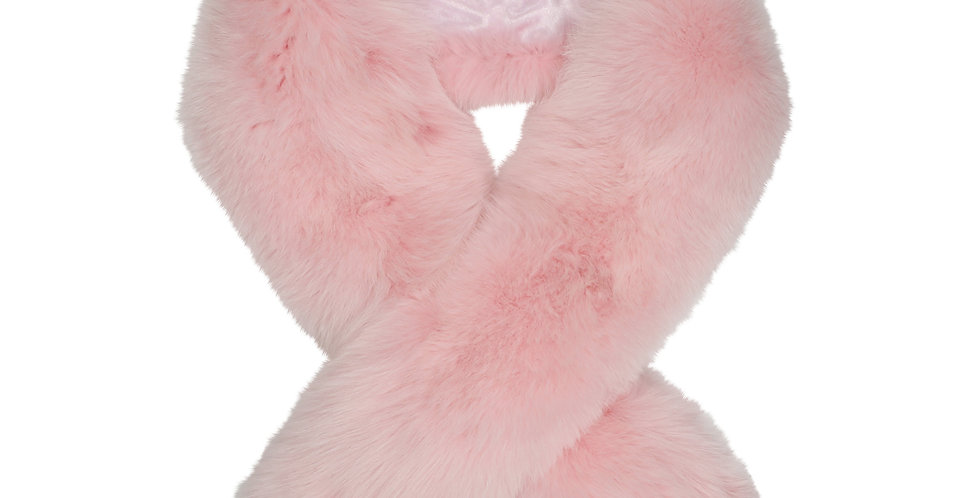 Pink Fur Stole
