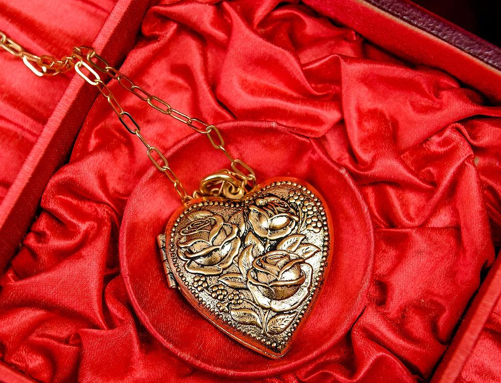 Juliet Heart Locket