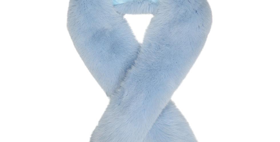 Blue Fur Stole
