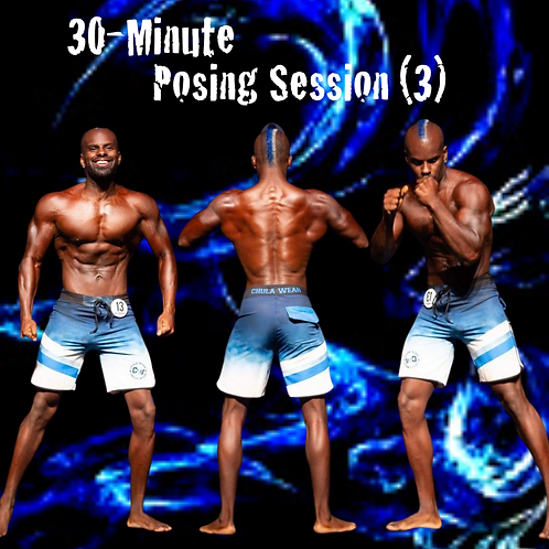 (3) 30 Minute Posing Sessions