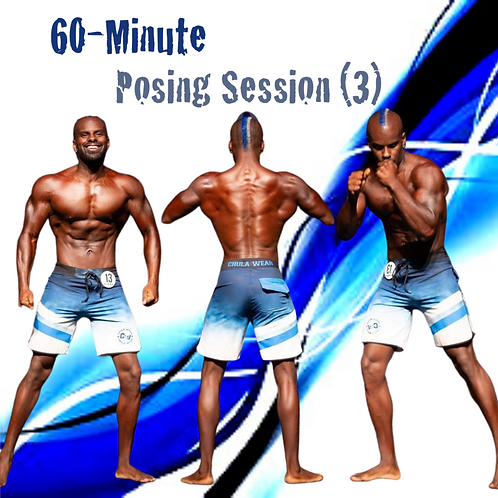 (3) 60 Minute Posing Sessions