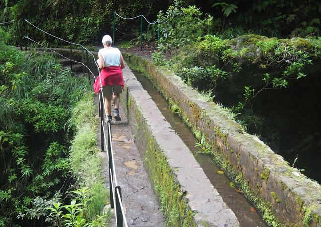 Levada-Wanderung durch den Lorber.
