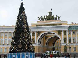 St. Petersburg: Weihnachtsbaum