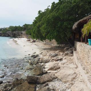 Verwunschener Strand an der Südwestküste Curaçaos