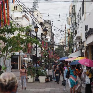 """Die """"Bahnhofstrasse"""" el Conde von Santo Domingo"""