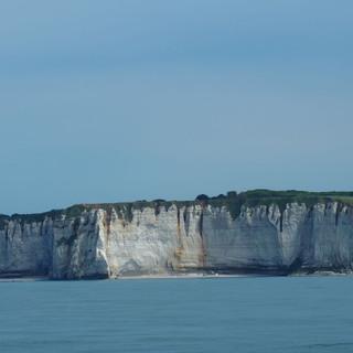 Die französiche Steilküste zwischen Dieppe und Cherbourg