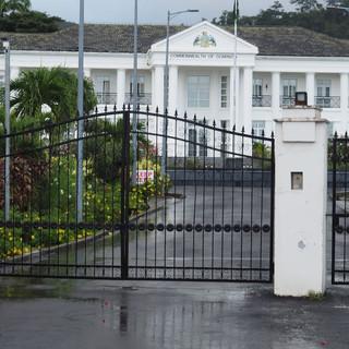 Das Parlamentsgebäude des Commenwealth of Dominica