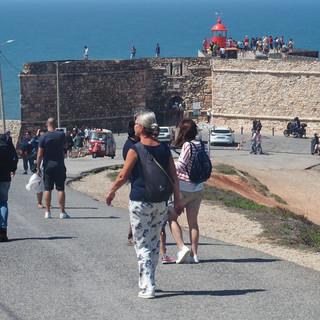 Die Festung mit Ausstellung zu den Monsterwellen