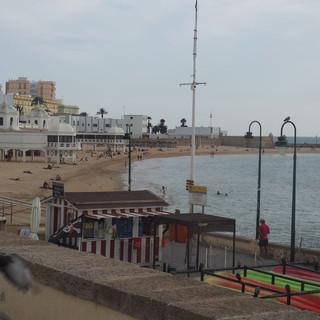 Ausschnitt der Strandpromenade
