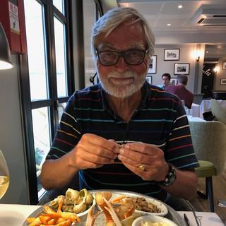 In Boulogne-sur-Mer konnte Jörg dem kulinarischen Angebot nicht widerstehen...
