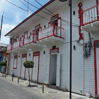 Häuser aus der Kolonialzeit von Puerto Plata