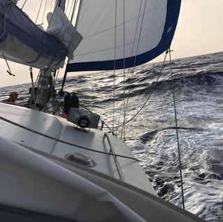 Unterwegs auf dem Atlantik