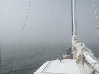 Trotz Nebel zum Endspiel