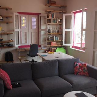Ein Zimmer unserer zweiten Wohnung...