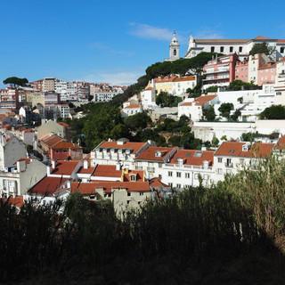 Alfama: Blick gegen Igreja Sao Vicente de Fora