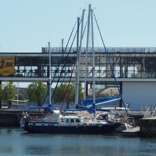 Wir hatten Glück und konnten für die WoC einen Hafenplatz ergattern.