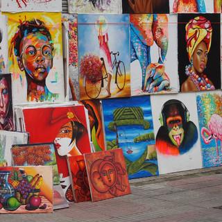 Kunst für Touristen - lasst Farben sprechen...