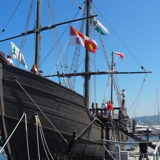 ... hat die Kolumbus--Crew 1492 Amerika entdeckt.