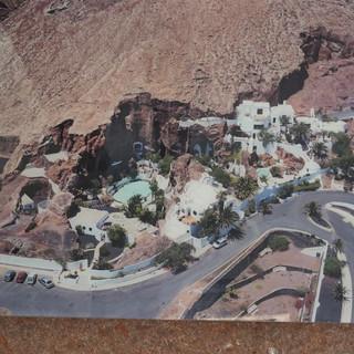 Eine Übersicht des Omar-Shariff-Hauses.