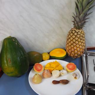 Guaven, Loveappels, Tamarinden ... teils unbekannt, alle lecker¨