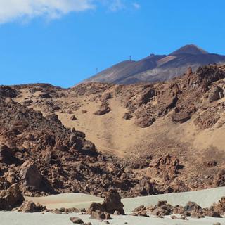 ... mit stetigem Blick auf den El Teide