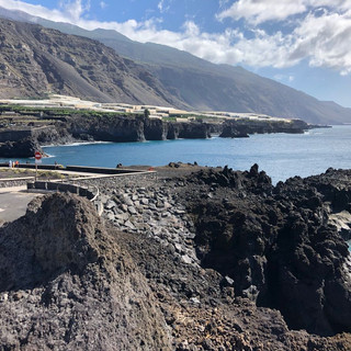 Nordküste von La Palma: Bananenplantagen