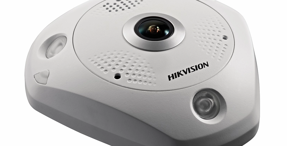 Hikvision 6MP Fisheye Network Camera  (DS-2CD6365G0-IS)