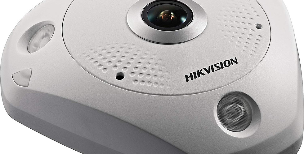 Buy online Hikvision 12MP Fisheye Network Camera (DS-2CD63C2F-IVS)