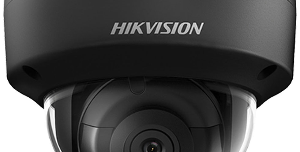 Buy online Hikvision 5 MP Black IR Fixed Dome IP Outdoor Camera (DS-2CD2155FWD-I)
