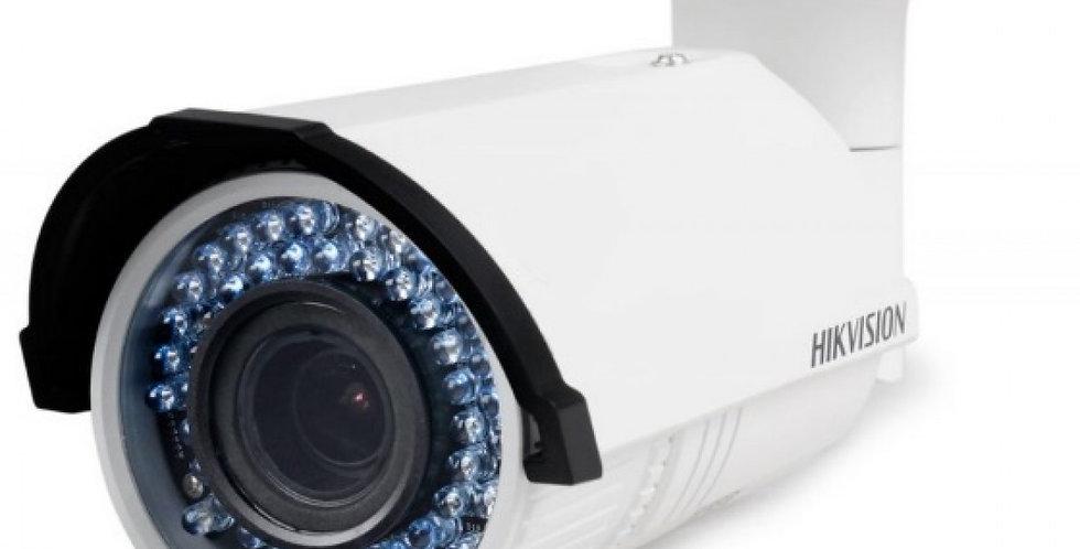 Hikvision 2MP WDR Varifocal Bullet IP Weather-Proof Camera (DS-2CD2622FWD-I)