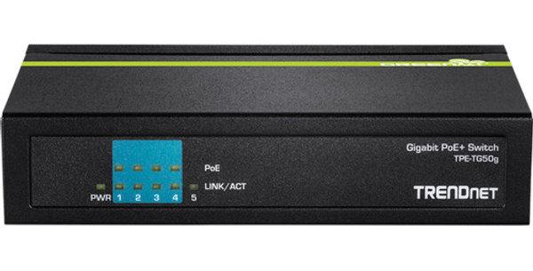 Buy online 5-Port Gigabit PoE+ Switch TPE-TG50G