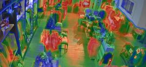 CCTV-based heat-mapping technologies