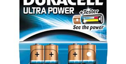 Duracell Ultra Power AA (pack of 4)
