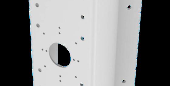Hikvision white Corner mount bracket DS-1276ZJ