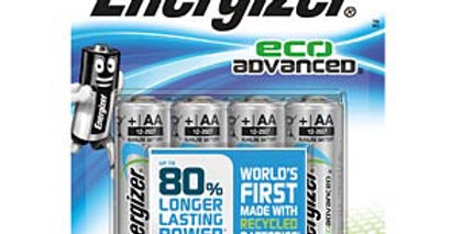Energizer Eco Advanced AA (pack of 4)