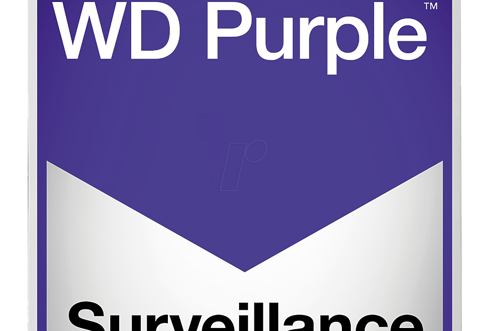 Buy online Western Digital WD Purple Surveillance Hard Disc Drive (HDD)