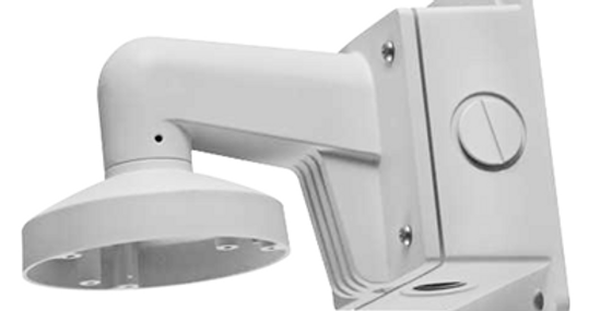 Hikvision Dome Camera Wall Mount Bracket w/ Junction Box (DS-1273ZJ-140B)