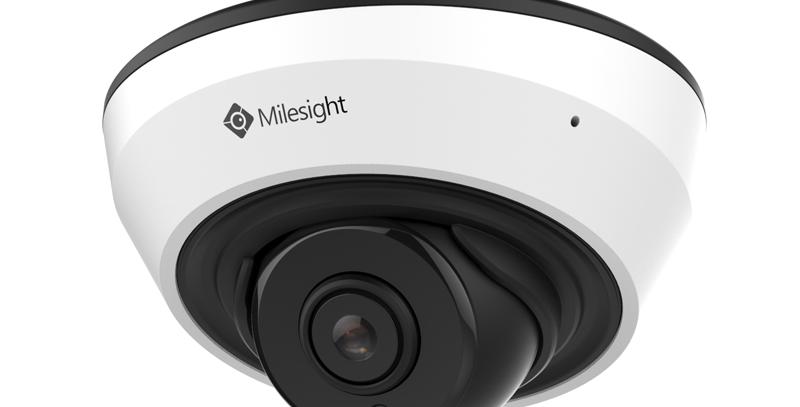 Buy online Milesight 2/4/5MP H.265+ IR Mini Dome IP Camera (MS-C2983-PB; MS-C4483-PB; MS-C5383-PB)
