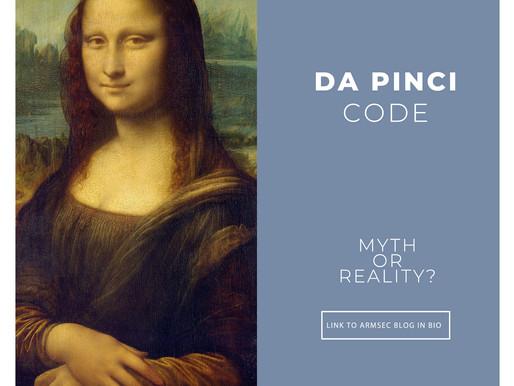 Da Pinci code: myth or reality?