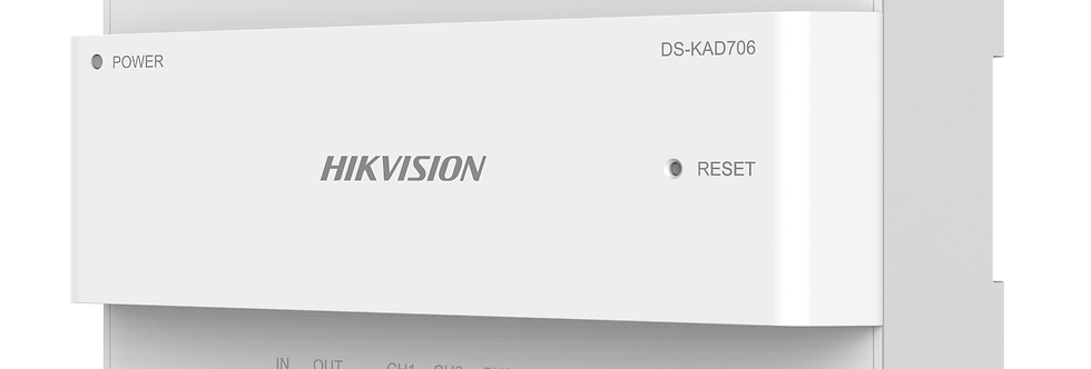 Buy online Hikvision Two-Wire Video/Audio Distributor (DS-KAD706-S)
