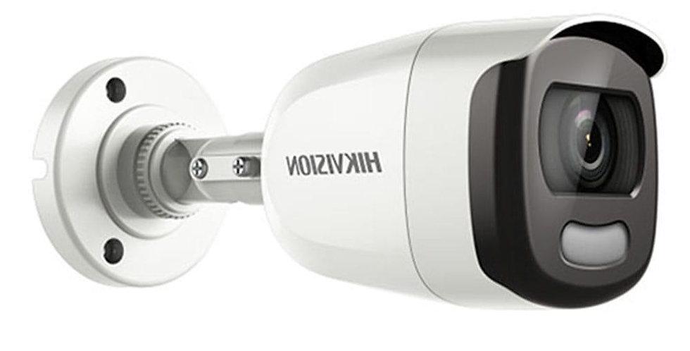 Buy Online Hikvision 2 MP Full Time Colour Weatherproof Bullet Camera (DS-2CE10DFT-F)