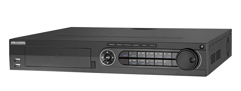 Buy online Hikvision Turbo HD DVR 16Ch up to 8MP (iDS-7316HUHI-K4/16S)