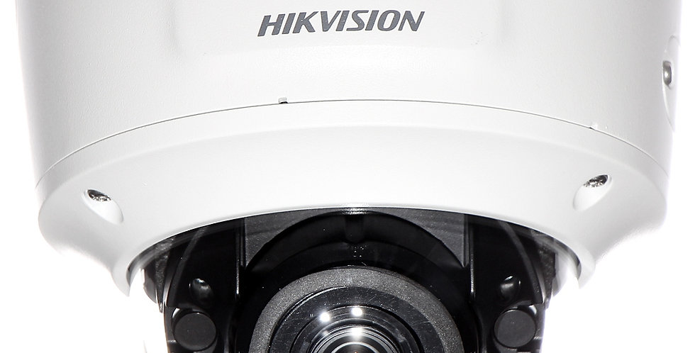 Buy online Hikvision 4 MP IR Varifocal Dome IP Vandal-proof Weather-Proof Camera