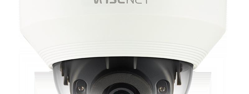 Buy online Samsung 4MP HD Outdoor IP Network IR Vandal Resistant Dome Camera (QNV-7010R)