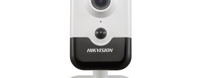 white Hikvision 3MP Wi-Fi IR Fixed Cube Network CameraDS-2CD2435FWD-I(W)