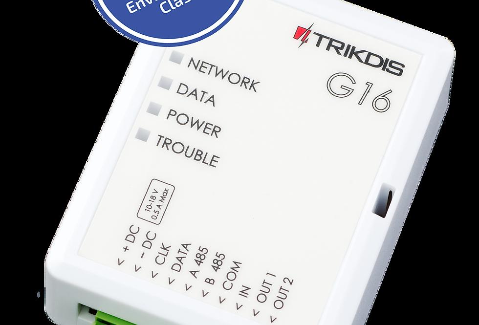 Trikdis 3G/4G/PSTN alarm communicator G16 (TX-G16 / TX-G16_3G) buy uk