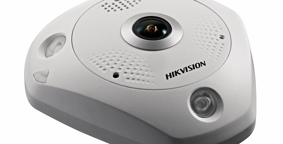 Buy online Hikvision 12 MP Immervision Lens Fisheye Network Camera (DS-2CD63C5G0-IVS)