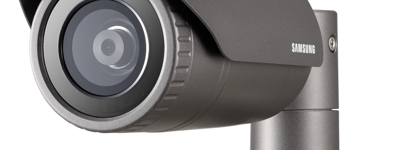 Buy online Wisenet 4MP Full HD IR Bullet Camera (QNO-7010R)