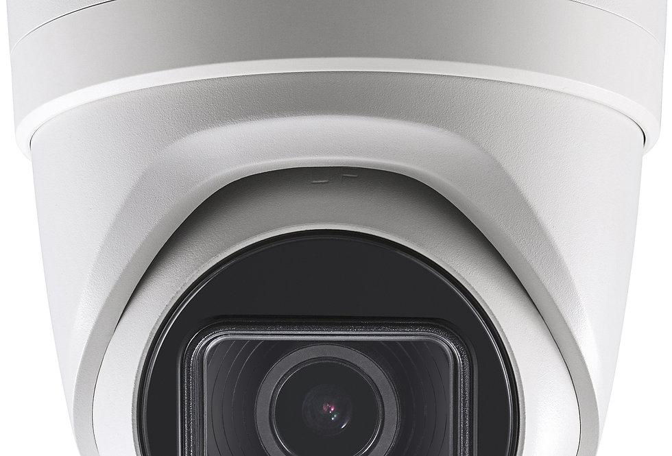 Buy online Hikvision 8 MP (4K) IR Varifocal Turret Network PoE Camera (DS-2CD2H83G0-IZS)