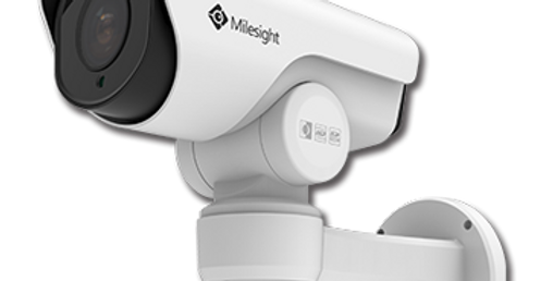 Milesight 2MP/4MP/5MP 12x H.265+ Mini PoE PTZ Bullet Network Camera (MS-C5361-E(P)B)